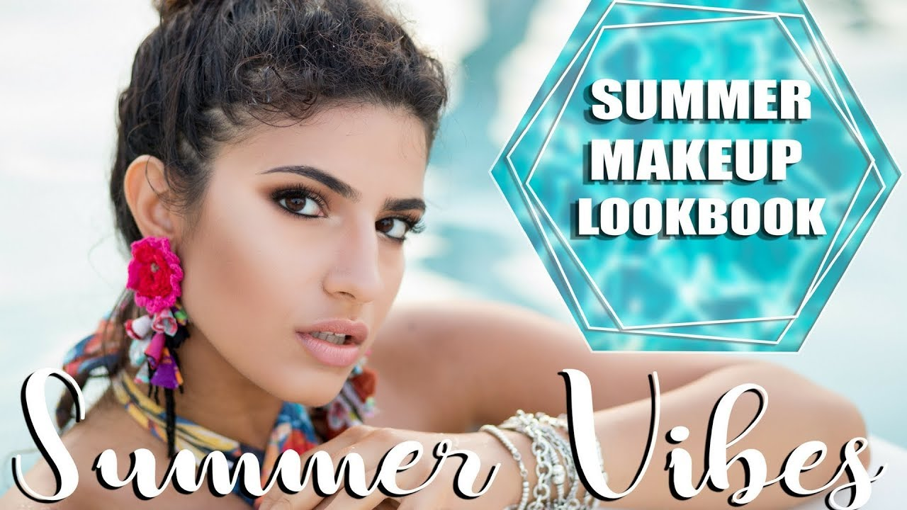 SUMMER VIBES | Summer Makeup LookBook | Short Music Film