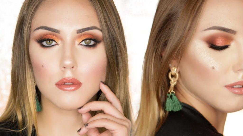 Tutorial Trucco per le Feste | Natale 2017 | Makeup Rosso Rame e oro