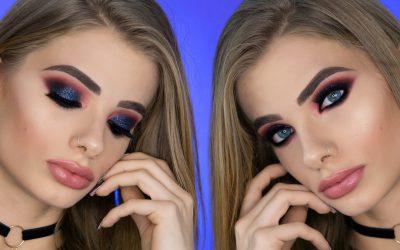 Tutorial Glitter Glam Smokey Eyes | Smokey Eyes Nero/Borgogna con glitter